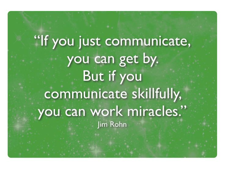 jim rohn communication