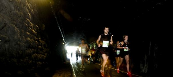 Running through Bath tunnel