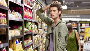 Confused in the supermarket