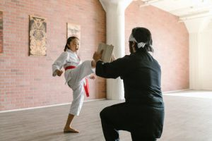 Martial arts scene